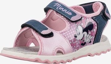 Disney Minnie Mouse Sandale in Blau