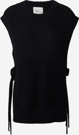 SECOND FEMALE Pullover 'Aventurine' in schwarz, Produktansicht