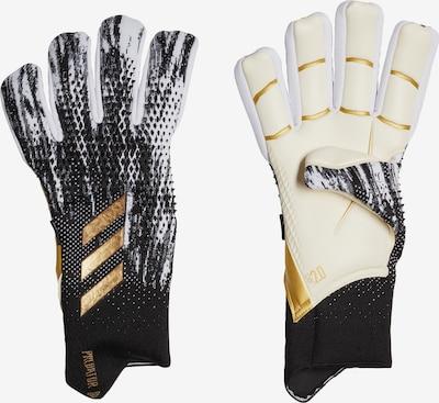 ADIDAS PERFORMANCE Torwarthandschuhe 'Predator 20 Pro' in beige / gold / schwarz, Produktansicht