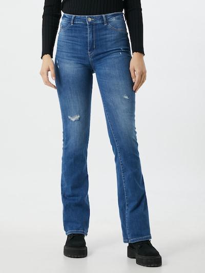 Džinsai iš Tally Weijl , spalva - tamsiai (džinso) mėlyna, Modelio vaizdas