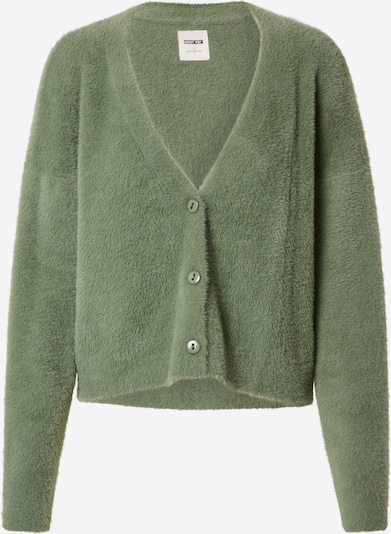 ABOUT YOU x Laura Giurcanu Knit Cardigan 'Milena' in Green, Item view