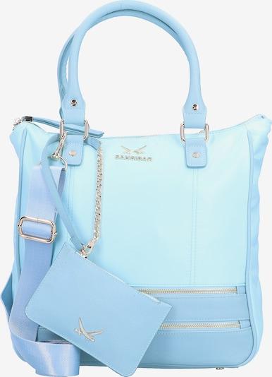 SANSIBAR Handtasche in aqua / hellblau, Produktansicht