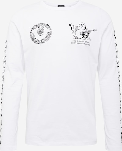 True Religion Shirt in de kleur Zwart / Wit, Productweergave