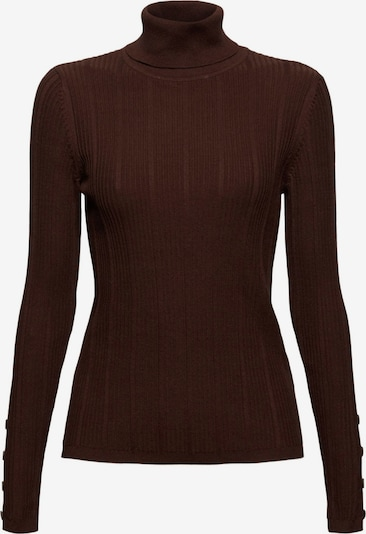 EDC BY ESPRIT Sweatshirt in dunkelbraun, Produktansicht