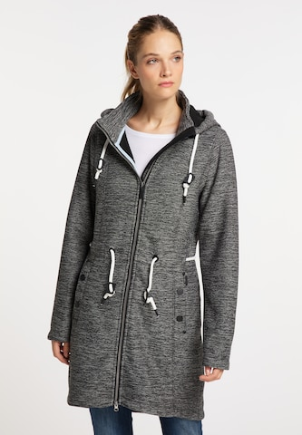 ICEBOUND Knitted Coat in Grey