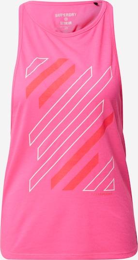 Superdry Top deportivo en rosa, Vista del producto
