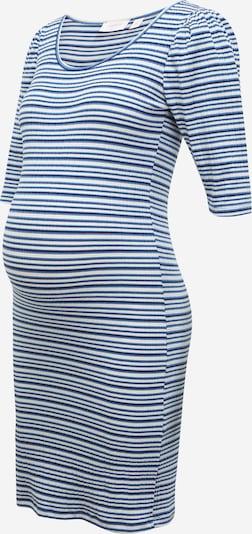 MAMALICIOUS Kleid 'ANNA' in blau / marine / weiß, Produktansicht