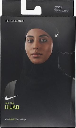 NIKE Sporta cepure melns, Preces skats