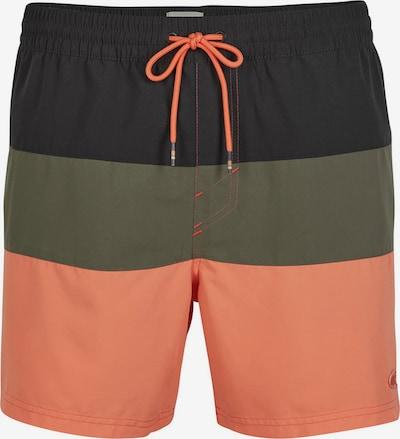 O'NEILL Surferské šortky - tmavomodrá / olivová / oranžová, Produkt