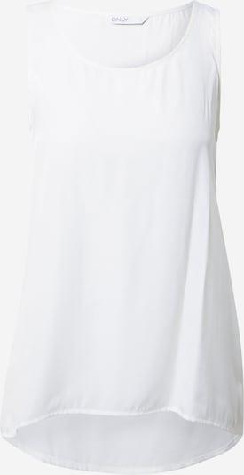 ONLY Haut 'JEAN' en blanc, Vue avec produit