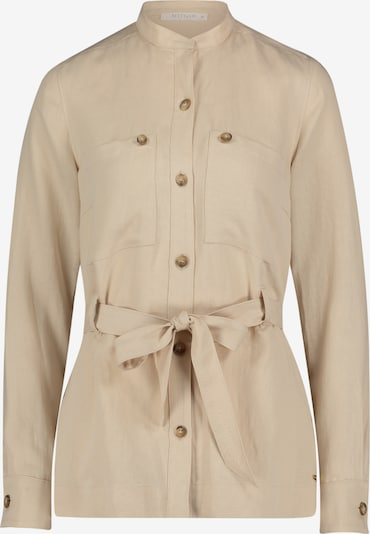 Betty & Co Hemdbluse langarm in beige, Produktansicht