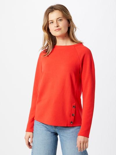 Felpa TOM TAILOR di colore rosso arancione: Vista frontale