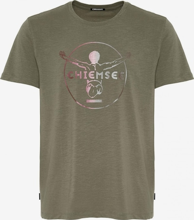 CHIEMSEE Shirt in de kleur Donkergroen / Lila, Productweergave