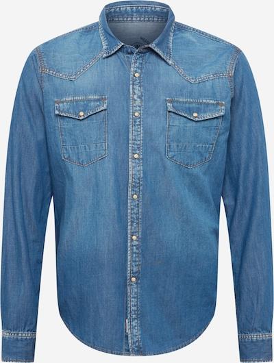 Herrlicher Button Up Shirt 'Clint' in Blue denim, Item view