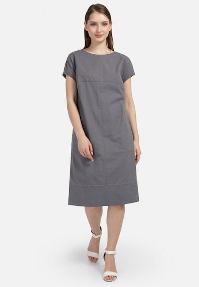 HELMIDGE Etuikleid in grau, Modelansicht