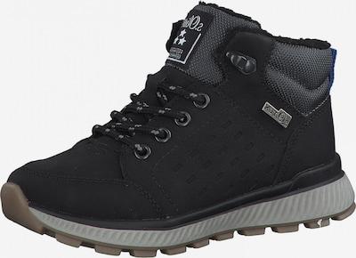 s.Oliver Sniega apavi, krāsa - melns, Preces skats