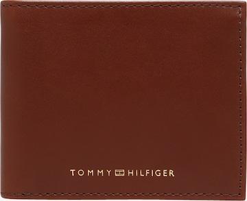 TOMMY HILFIGER Portemonnaie in Braun