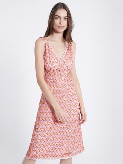 Ana Alcazar Bustierkleid ' Zasy ' in pink, Modelansicht
