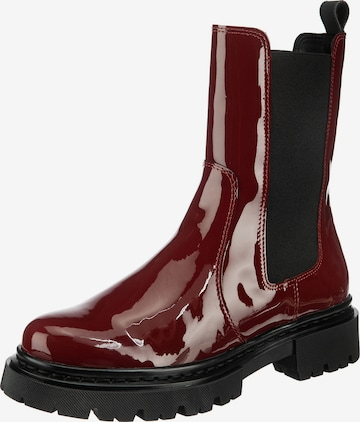 JOLANA & FENENA Chelsea Boots in Rot