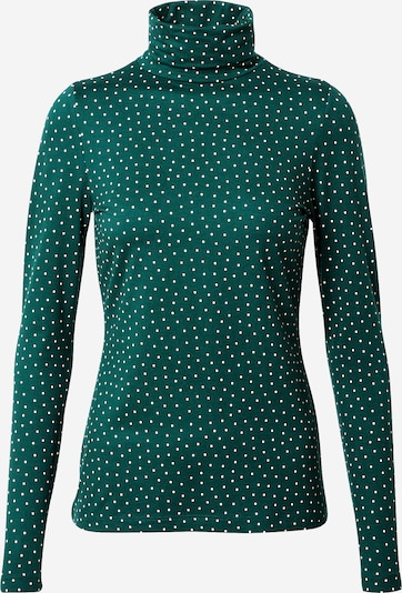 King Louie T-shirt 'Betsy' en vert / blanc, Vue avec produit