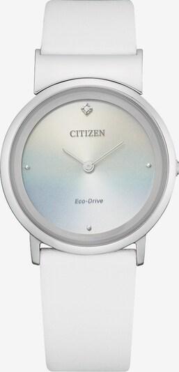 CITIZEN Uhr in silber / weiß, Produktansicht
