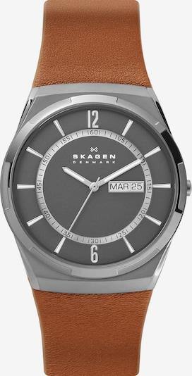 SKAGEN Uhr in braun / grau, Produktansicht