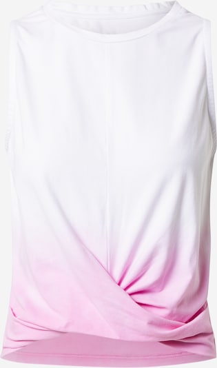 Hey Honey Sportovní top - svítivě růžová / bílá, Produkt