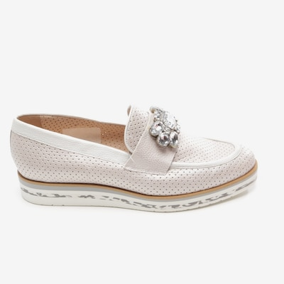 Pertini Flats & Loafers in 41 in Silver, Item view