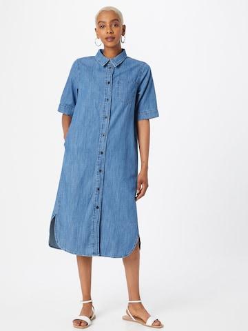 JDY Shirt Dress 'POPPY' in Blue
