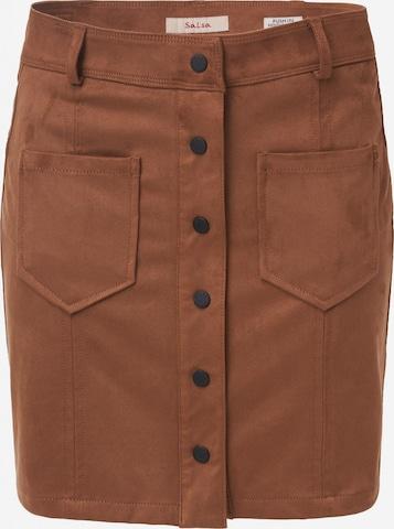 Salsa Skirt 'Secret Glamour' in Brown