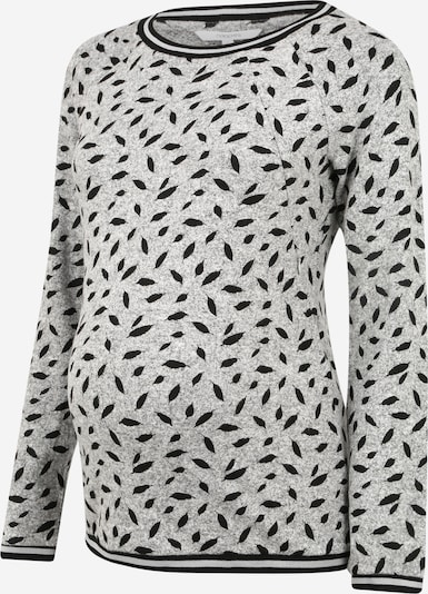 Noppies Shirt 'Buxton' in graumeliert / schwarz, Produktansicht