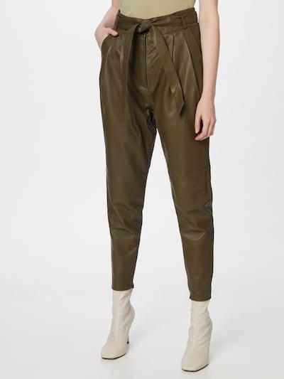 Pantaloni cutați Copenhagen Muse pe oliv, Vizualizare model
