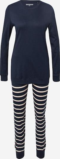 SCHIESSER Pyjama in de kleur Zwart / Wit, Productweergave
