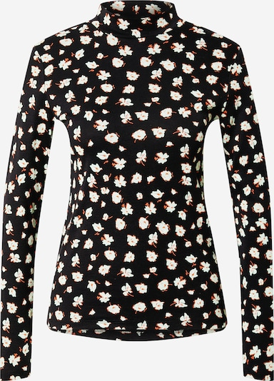 EDC BY ESPRIT Shirt in lachs / schwarz / weiß, Produktansicht