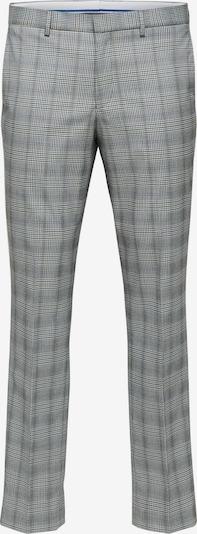 SELECTED HOMME Housut 'Mylo-Logan' värissä laivastonsininen / tummanruskea / meleerattu harmaa, Tuotenäkymä