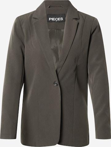 PIECES Blazer 'BOSSY' in Grey