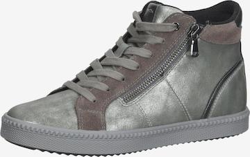 GEOX High-Top Sneakers in Grey