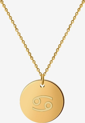 GOOD.designs Kette 'Horoskop Crabs' in Gold