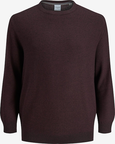 Jack & Jones Plus Pullover 'Aaron' in weinrot, Produktansicht