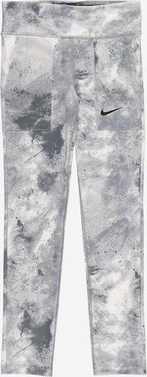 NIKE Pantalon de sport en crème / gris clair, Vue avec produit