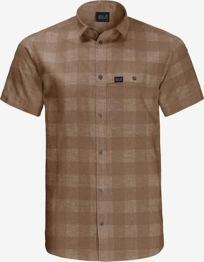 JACK WOLFSKIN Hemd in braun / brokat, Produktansicht