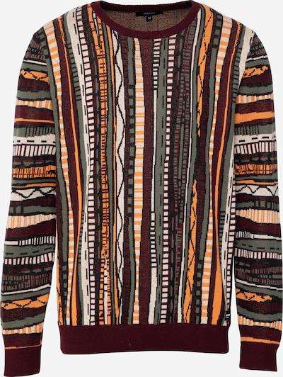 Iriedaily Pullover 'Theodore' in dunkelbraun / mischfarben, Produktansicht