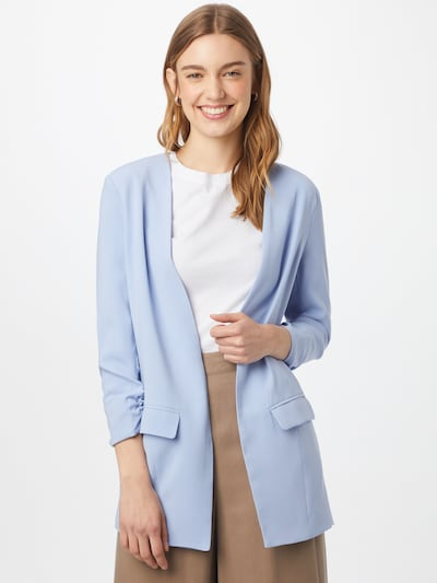 mbym Blazer 'Weronka' in hellblau, Modelansicht