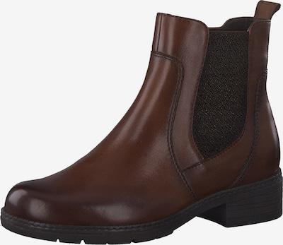 JANA Chelsea Boots in cognac / schwarz, Produktansicht