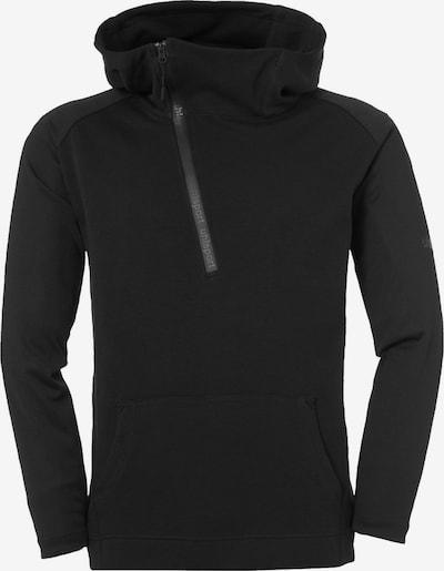 UHLSPORT Sweatshirt in schwarz: Frontalansicht