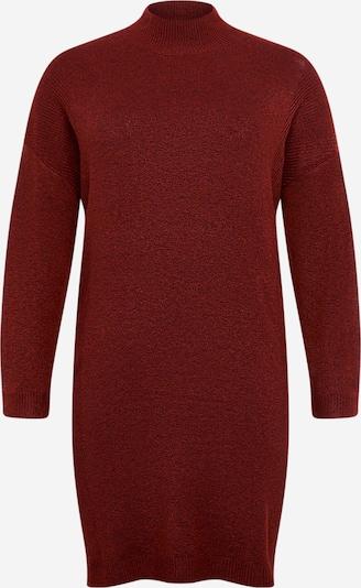 ONLY Carmakoma Robes en maille 'Primeus' en rouge, Vue avec produit