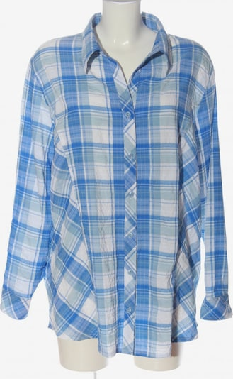 NKD Blouse & Tunic in 5XL in Blue / Light grey / White, Item view