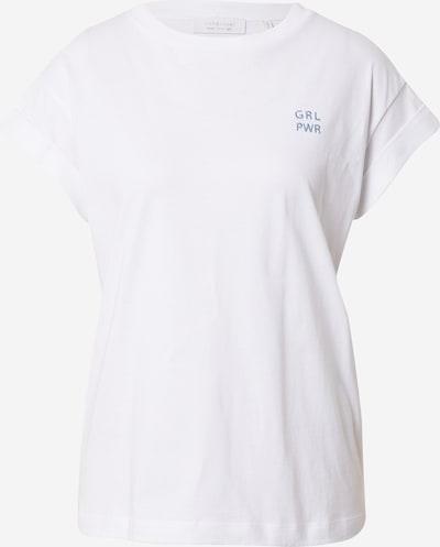 Rich & Royal Тениска 'Boyfriend' в опушено синьо / бяло, Преглед на продукта