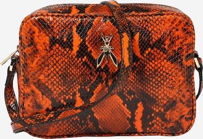 PATRIZIA PEPE Чанта за през рамо тип преметка в тъмнооранжево / черно, Преглед на продукта