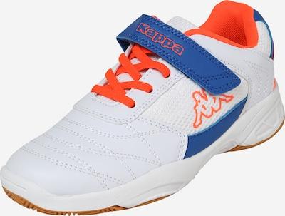KAPPA Sneaker 'DROUM II' in blau / neonorange / weiß, Produktansicht